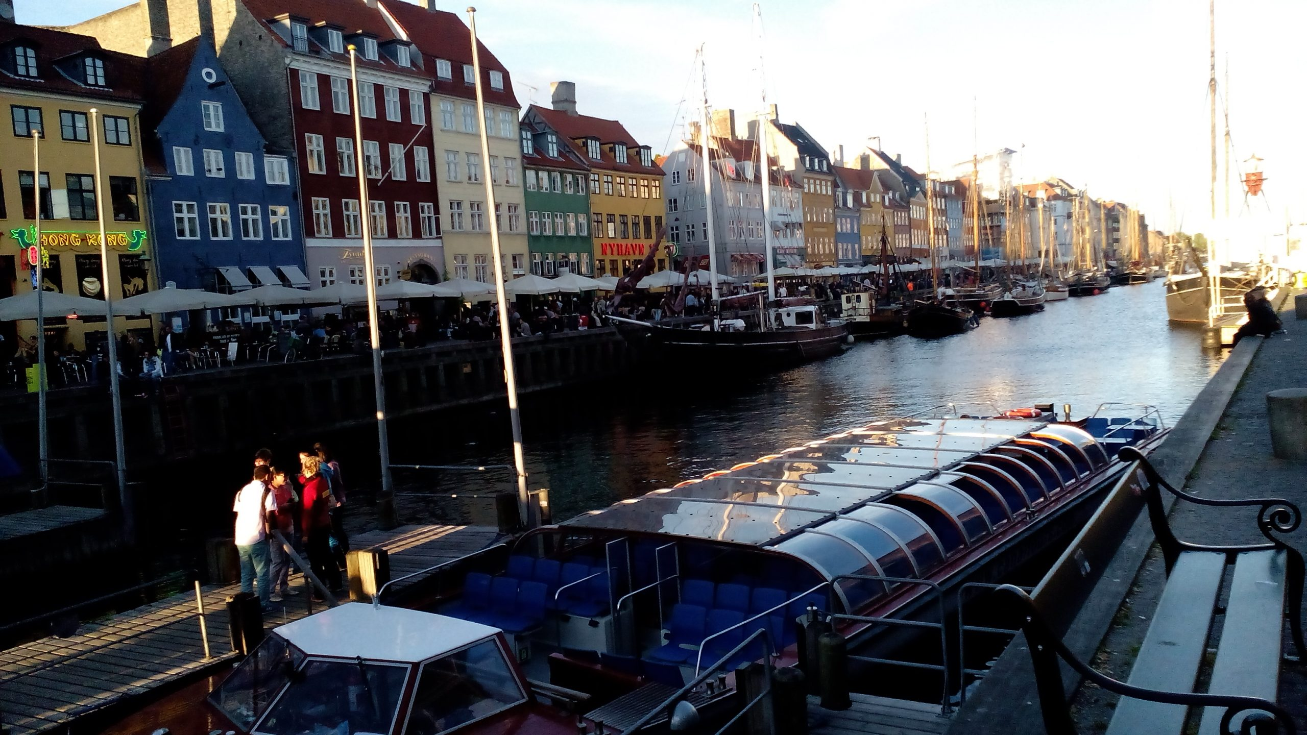il porto di Copenaghen